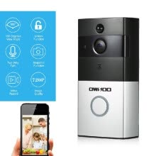 smart-doorbells-Romacci OWSOO 720P WiFi Visual Intercom Door Phone Support Infrared Night View PIR Android IOS APP Remote Control for Door Entry A on JD