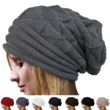 c453394d85966 Fashion Warm Winter Women Beret Braided Baggy Knit Crochet Beanie Hat Ski  Cap New Hot Fashion Casual
