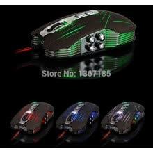 6e13e9b6338 2016 marca gaming mouse 1200/1600/2400 dpi usb 3d professional gaming  competitivo pulsanti x9 mouse per computer pc gamer mouse