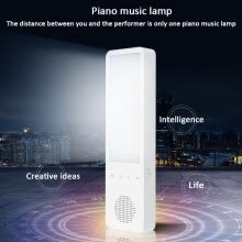 lamps-light-fixtures-Interesting Lamp Cree Blind Headlamp Creative Bluetooth Music Lamp White Electronic Piano Playing Piano Music Lamp LED Light on JD