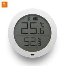 smart-robots-Original Xiaomi Mijia Bluetooth Temperature Smart Humidity Sensor Digital Thermometer Moisture Meter Mi Home APP with Battery on JD