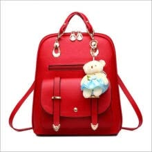 ethnic-wear-Women Girl Backpack Travel PU Leather Handbag Rucksack Shoulder School Bag New on JD