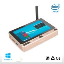 -Pocket PC Windows 10 Home Intel Cherry trail Z8300 5' Mini PC 4GB RAM 64GB ROM with USB3.0 Dual-Band WIFI Set Top TV Bluetooth on JD