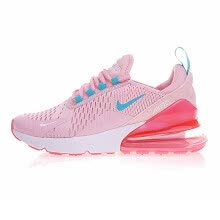 7d5658d16d Nike AIR MAX 270 Women's Running Shoes, Yellow Pink, Shock Absorption  Non-slip Wear-resisting Lightweight Sport Sneakers Shoes