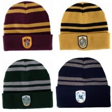 skullies-beanies-Gryffindor Lattering Raven Crawford College Badge Hat on JD