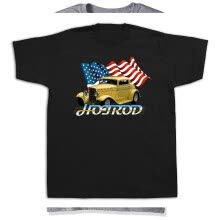 -1930 yellow grill Antique Muscle Car Hot Rod Tshirts Vintage Rivarossi Model on JD