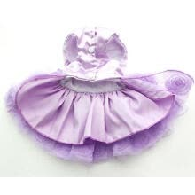 pet-feeding- Dog Pet Dress Princess Tutu Rosette&Bow Puppy Skirt Spring/Summer Clothes  on JD