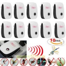 electronic-education-10x Electronic Ultrasonic Pest Reject Mosquito Cockroach Mouse Killer Repeller on JD