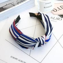 others-New Headband Twist Hairband Bow Knot Cross Tie Velvet Headwrap Hair Band Hoop on JD
