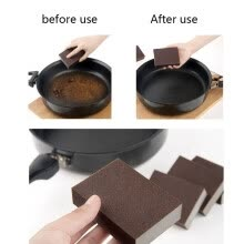 kitchen-utensils-gadgets-1pc Nanometer Diamond Sand Sponge Cleaning Pan Windows Brush Кухонные принадлежности on JD