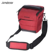 -Andoer Portable DSLR Camera Shoulder Bag Sleek Polyester Camera Case for 1 Camera 1 Lens and Small Accessories for Canon Nikon Son on JD