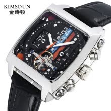 mechanical-watches-KIMSDUN K - 723D Механические часы Tourbilion Calendar Dail on JD