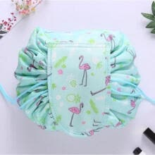 makeup-bags-cases-PORTABLE MAKEUP DRAWSTRING BAGS STORAGE MAGIC TRAVEL POUCH COSMETIC MAKE-UP BAG on JD