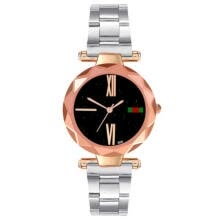 -Fashion Casual Analog Women Stainless Steel Band Quartz Wrist Watches Watch on JD
