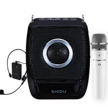 -10 degrees (ShiDu) SD-S92 UHF dual wireless loudspeaker high-power small bee teacher teaching dedicated wireless portable amplifiers handheld wireless microphone Bluetooth 4.0 classic black on JD