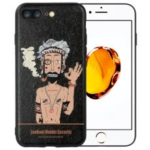 -ESCASE Apple iPhone7 plus phone case cartoon male pattern soft shell protective sleeve 5.5 inch personality tide brother on JD