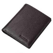 -Tianzun TIANZUN Men's Wallet Short Simple Men's Wallet Fashion Lightweight Wallet Soft Black T1601001 on JD