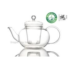 -Clear Glass Teapot w/t Infuser 1000ml 33.8 fl oz T001 on JD