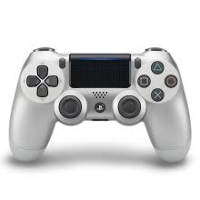 875062512-Sony (SONY) [PS4 official accessories] PlayStation 4 game handle (silver) 16 version on JD
