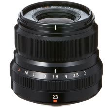 camera-lenses-Fuji (FUJIFILM) XF23mm F2 R WR black standard fixed focus lens classic human street beat anti-drip dust Quiet fast stepper motor on JD