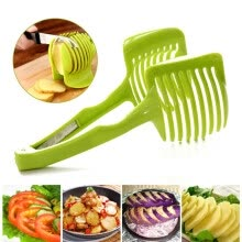 kitchen-utensils-gadgets-MyMei Creative Tomato Potato Lemon Cucumber Fruit Vegetable Slicer Cutter Food Holder on JD
