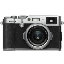 compact-digital-cameras-Fuji (FUJIFILM) X100F digital paraxial camera silver human sweep 24.3 million pixel mixed viewfinder retro WIFI USB charge on JD
