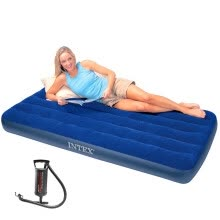 -INTEX Corduroy Airbed Outdoor Airbed on JD