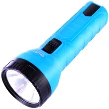projector-brackets-DELI Portable  LED Rechargeable Flashlight (blue or orange) on JD