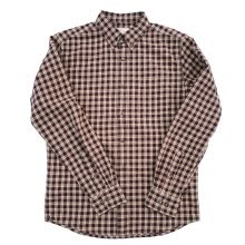 -BIIFREE Men's Clothing Casual Button-Down Plaid shirt 100% Cotton on JD