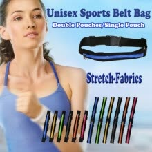 waist-packs-Unisex Sport Running Outdoor Activities Zipper Belly Waist Belt Bag Wallet Pouch on JD