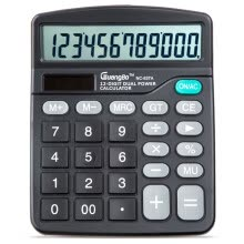 875065887-GuangBo NC-837A  12 Digits Solar Power  Calculator with Large Screen on JD