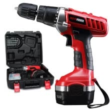 8750209-Niopo Power (neopower) ML-CD37144 14.4V Cordless Drill Charger Impact Drill on JD