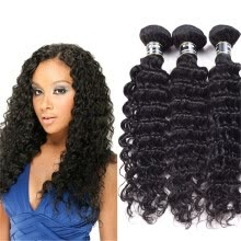 virgin-hair-Amazing Star Brazilian Virgin Hair Deep Wave Bundles Human Hair Bundles Deep Wave Brazilian Hair Weave 3 Bundles on JD