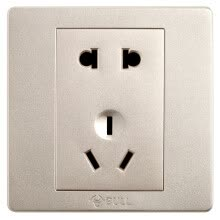 87502-Bull (BULL) switch socket G07 series inclined five hole switch 86 type socket panel G07Z223A (U6) champagne gold 10 only installed on JD