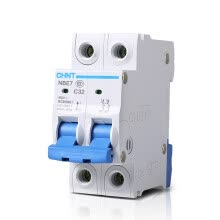 8750209-Chint (CHNT) Household Circuit Breaker Circuit Breaker 2P 32A C32 NBE7 on JD