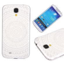 -Three laps Pattern Soft Thin TPU Rubber Silicone Gel Case Cover for SAMSUNG Galaxy S4 Mini on JD