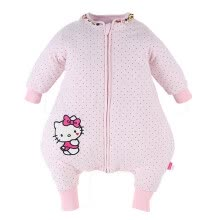 -Hellokitty baby sleeping bag baby anti-kick done outdoor child vest sleeping bag 101228056006 blue on JD