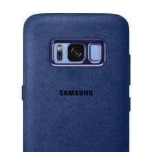 875061539-Samsung (SAMSUNG) S8 original phone case / Alcantara protective case / protective suede shell blue on JD