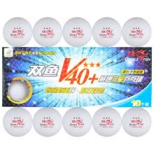 racquet-team-sports-DOUBLE FISH Table Tennis One Piece V40 + New Material ABS 1 Star Training White on JD
