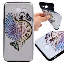 -Pocket watch Pattern Soft Thin TPU Rubber Silicone Gel Case Cover for Samsung Galaxy A5 2017/A520 on JD