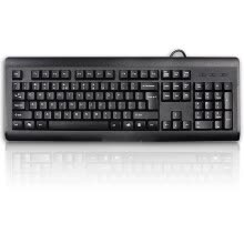 -Shuangfeiyan (A4Tech) KB-8A waterproof wired keyboard wired keyboard computer keyboard notebook keyboard USB interface on JD