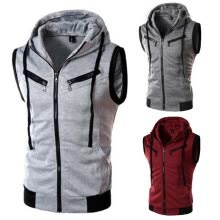 -2016 HOT! New Style Mens Casual Fashion Simple Vest for Men on JD
