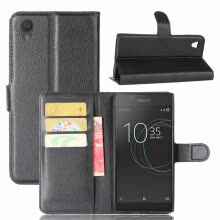 -GANGXUN Sony Xperia L1 Case PU Leather Magnetic Flip Wallet Card Cover for Sony Xperia L1 on JD