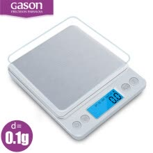 -GASON Z1s Kitchen scales Mini pocket portable stainless steel precision jewelry electronic Balance weight gold grams(3000gx0.1g) on JD