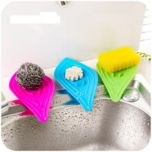8750203-Cntomlv multifunctional no slip ring leaves soap box drain and cleaning soap dish kitchen sink sponge on JD