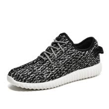 -мода обувь  мужчины кроссовки Breathable Mesh Running Sports Shoes Yeezy Boost Kanye 350V2 Lovers Shoes on JD