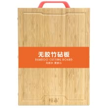 -Fingerboard without glue bamboo chopping board stainless steel nail fastening bamboo cutting board fruit plate SZ-6101 (40 * 30 * 1.9cm) on JD