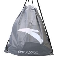 shoe-accessories-ANTA Drawstring Backpack Grey on JD