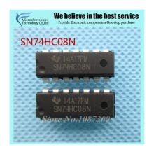 -50pcs free shipping 74HC08N SN74HC08N 74HC08 SN74HC08 DIP-14 Logic Gates QUAD 2-INPUT AND GATE new original on JD