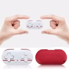 computer-parts-components-8Bitdo FC Zero Bluetooth Wireless Mini Gamepad Controlador for Nintendo Switch-Red on JD